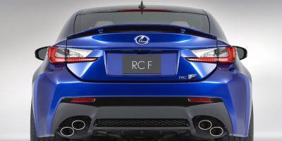 2015-Lexus-RC-F-rear-profile
