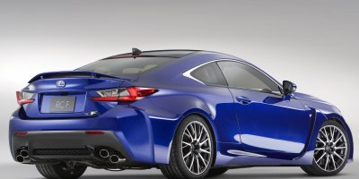 2015-Lexus-RC-F-rear-three-quarters