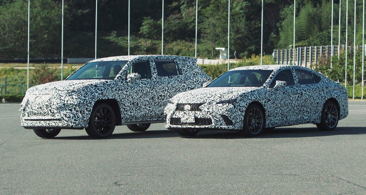 Lexus Camouflaged Prototypes