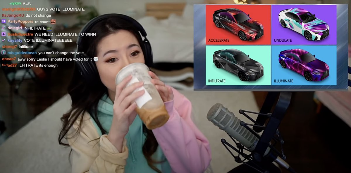 Lexus Sponsors Twitch Channel