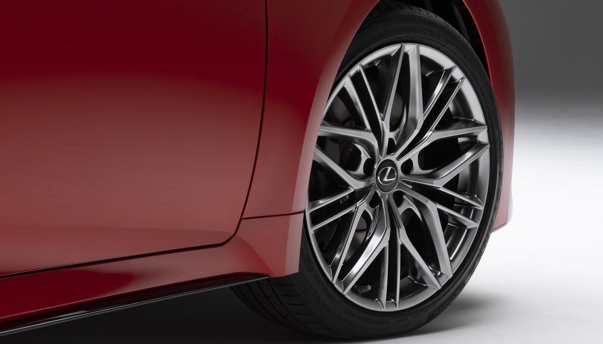 Lexus IS 500 Wheels