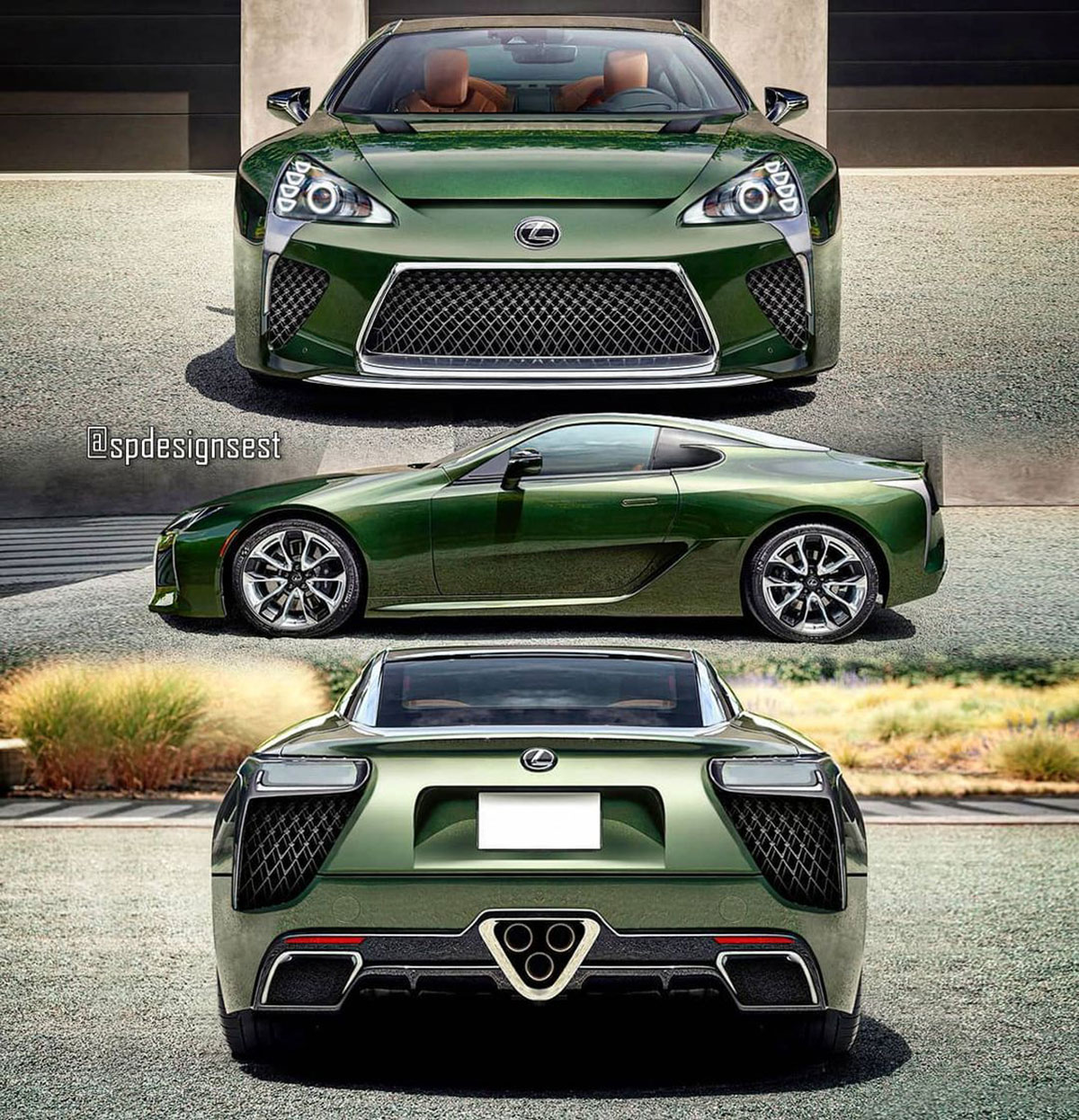 Lexus LFA LC Full
