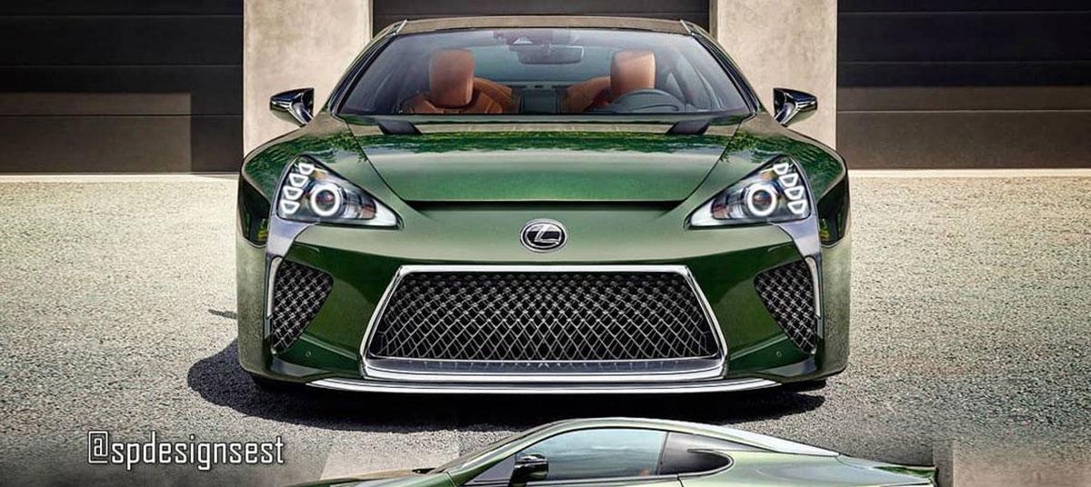 Lexus LFA LC Mashup