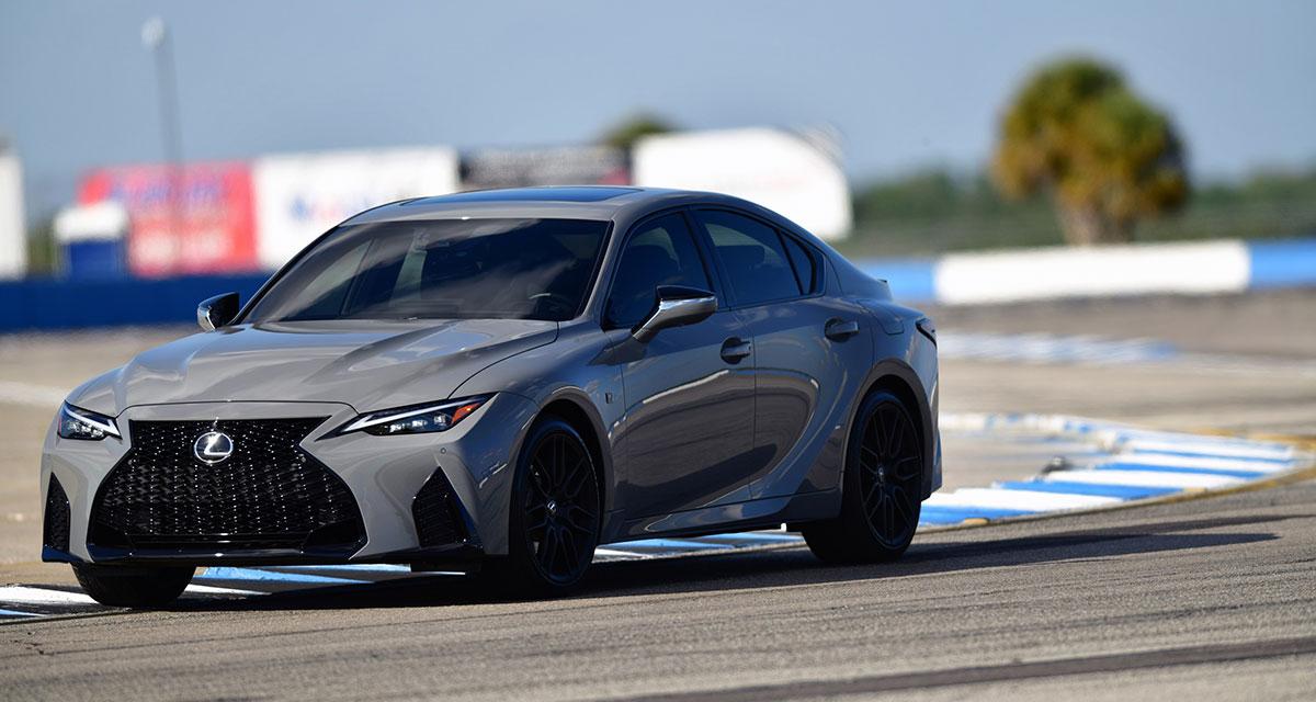 Lexus IS 500 Launch Edition