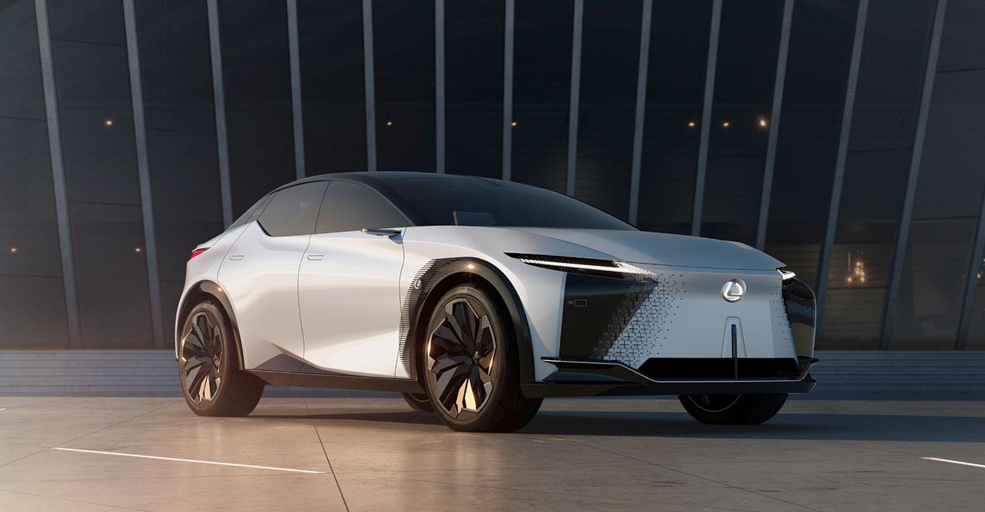 Lexus LF-Z Concept Hero