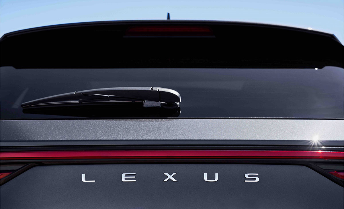 Lexus NX Rear Logo