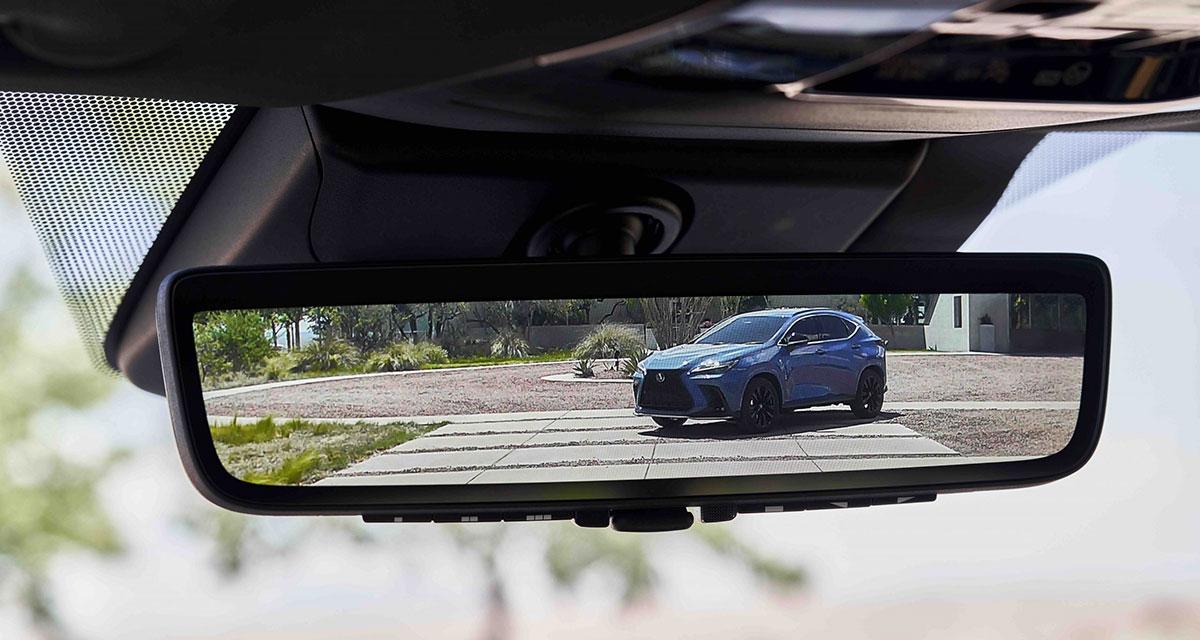 Lexus NX Digital Rear View