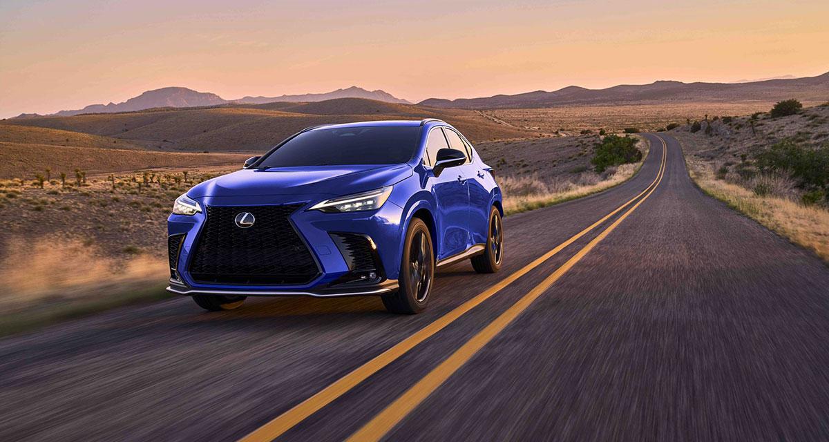Lexus NX F SPORT Driving
