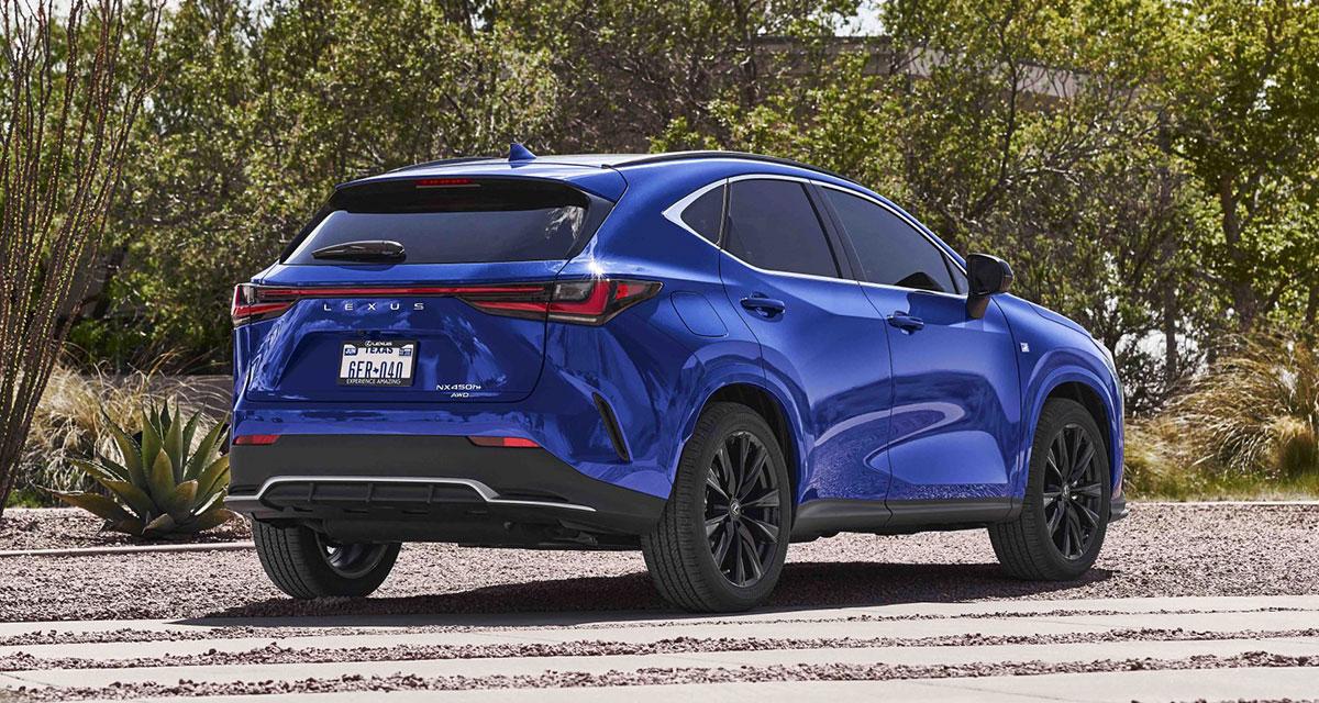Lexus NX F SPORT Rear