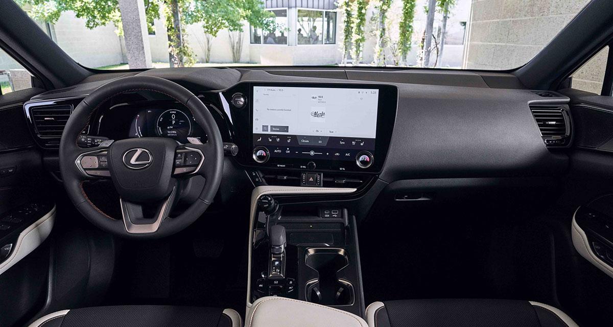 Lexus NX Interior Feature