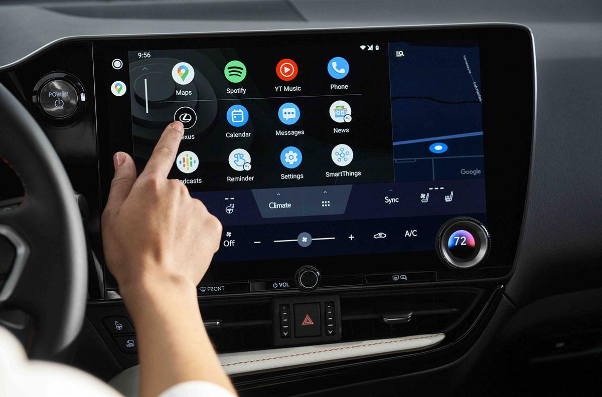 Lexus NX Interior Lexus Interface