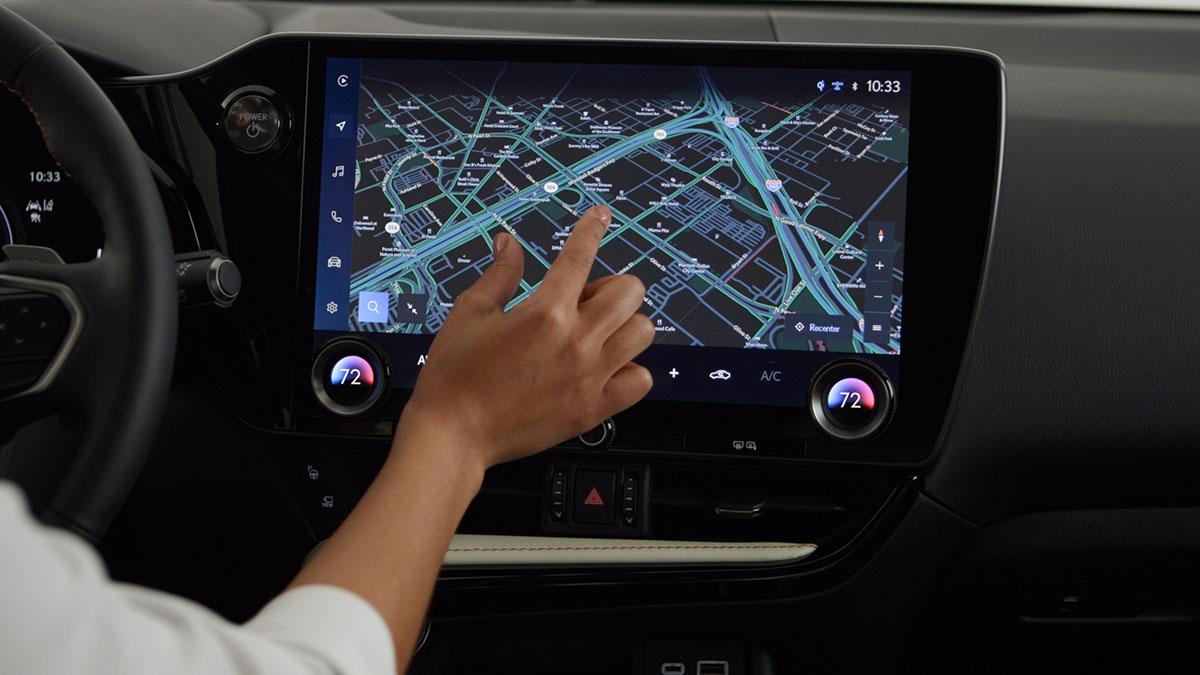 Lexus NX Maps