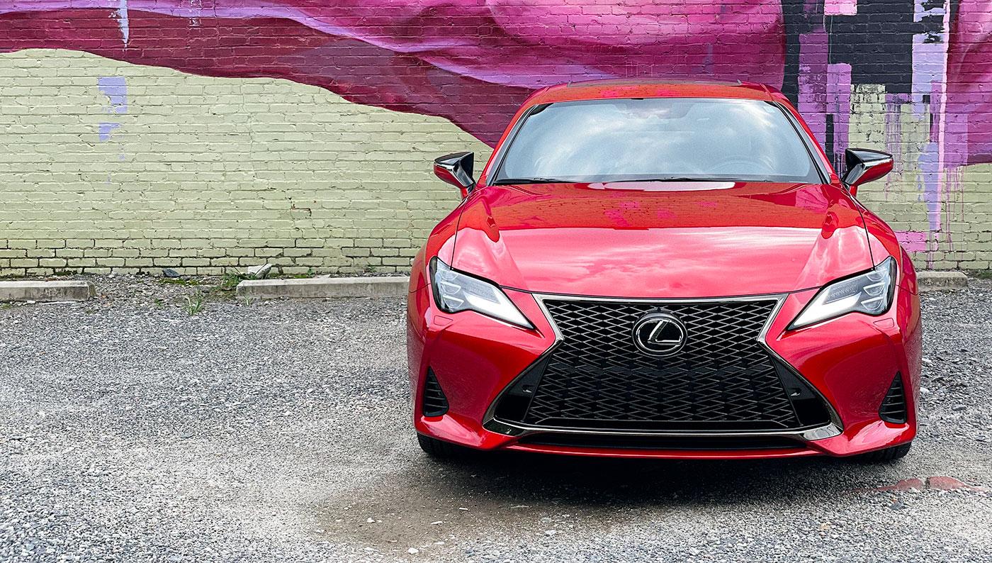 Lexus RC F SPORT Front