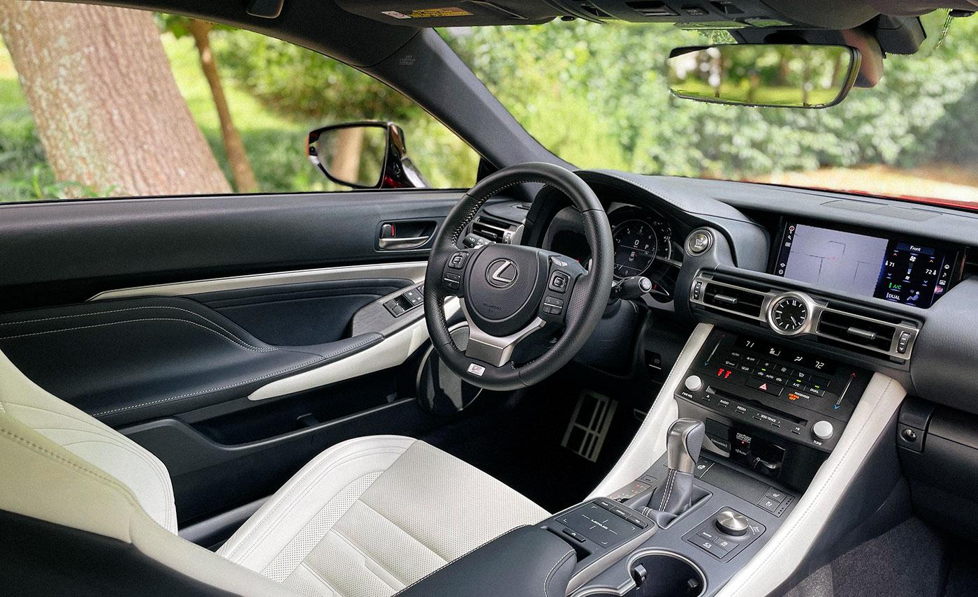 Lexus RC F SPORT Steering Wheel