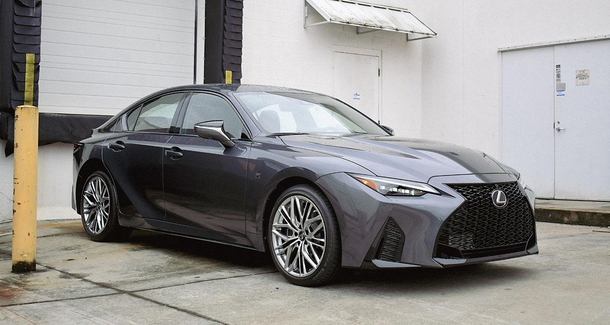 Lexus IS 500 Side Profile