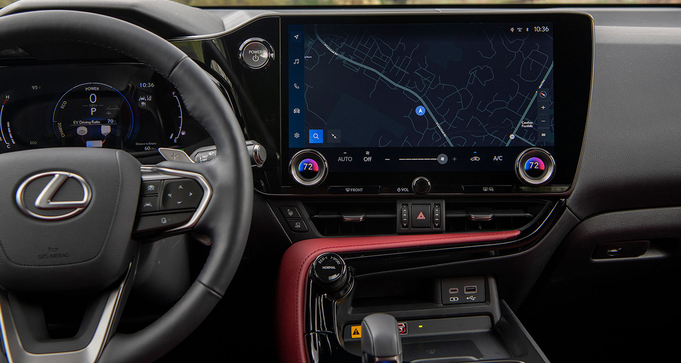 Lexus NX Interface