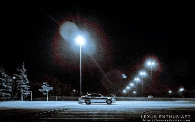 Photo Gallery Lexus GS Night Light Parking Lot