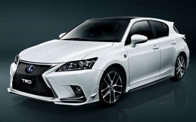 trd japan announces lexus ct 200h f sport accessories. Black Bedroom Furniture Sets. Home Design Ideas