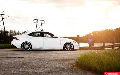 Photo Gallery: Lexus IS F SPORT on New Vossen CVT ...